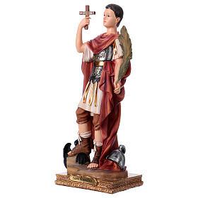 San Espedito statua in resina h 30 cm s3
