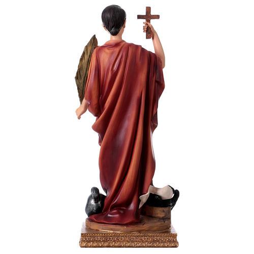 San Espedito statua in resina h 30 cm 5