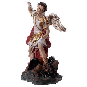 Archangel Michael statue in resin 30 cm s2