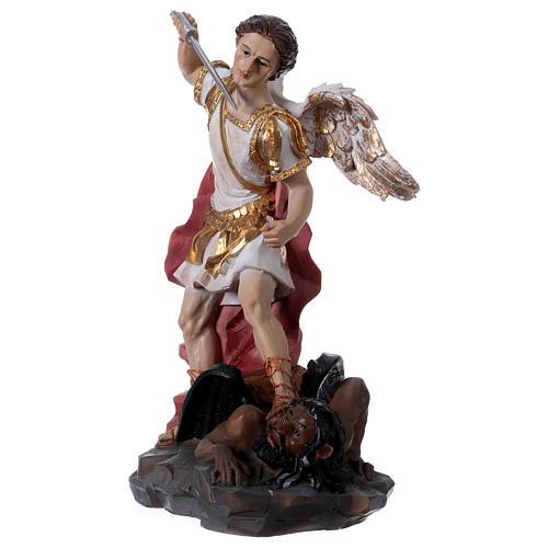 Archangel Michael statue in resin 30 cm 2