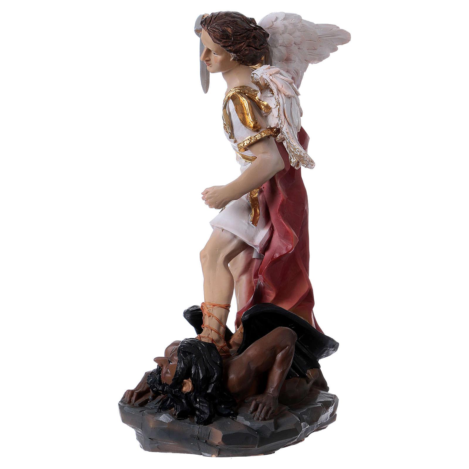 Saint Michel Archange 30 cm statue en résine 4
