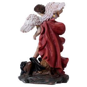 Saint Michel Archange 30 cm statue en résine s5