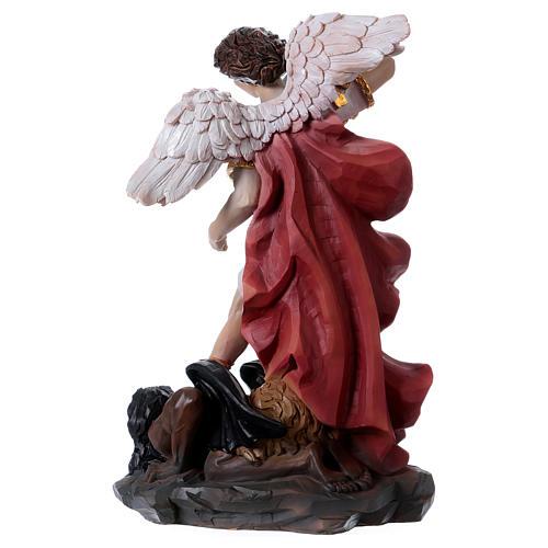 Saint Michel Archange 30 cm statue en résine 5