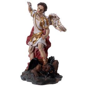 San Michele Arcangelo 30 cm resina s2