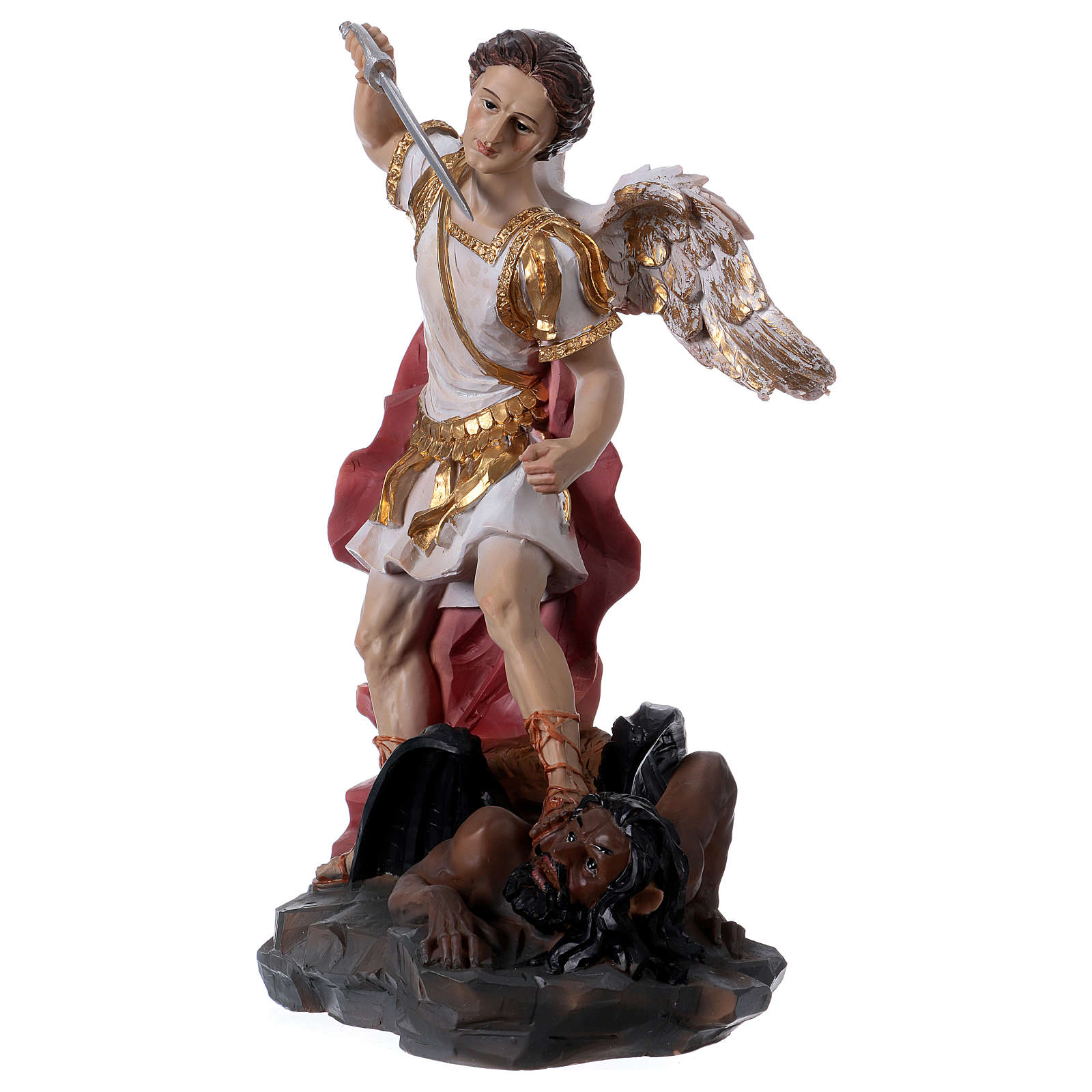St. Michael Archangel 30 cm Resin Statue 4