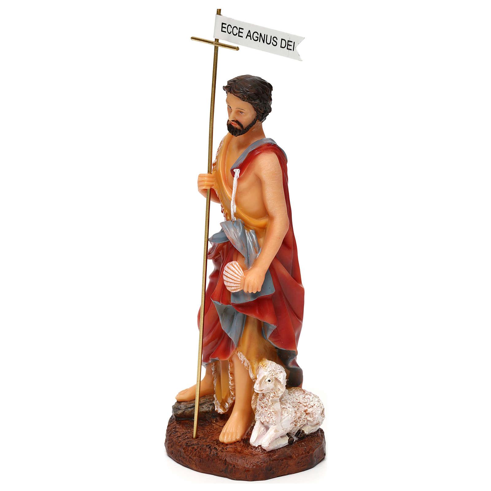 St. John the Baptist statue in resin 17.5 cm 4