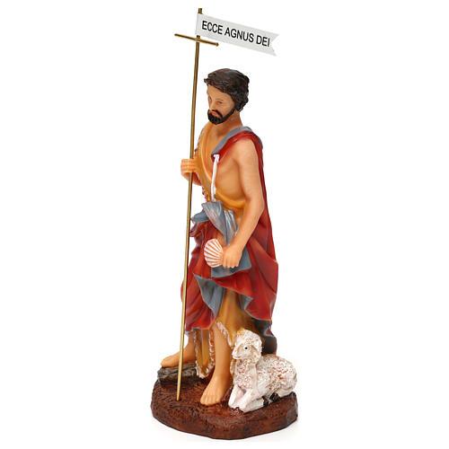 St. John the Baptist statue in resin 17.5 cm 2