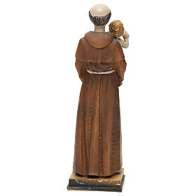 St. Anthony of Padua statue in resin 20 cm s4