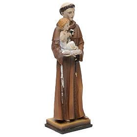 San Antonio de Padua 20 cm estatua resina s3