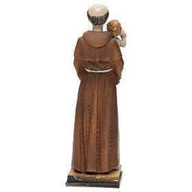 San Antonio de Padua 20 cm estatua resina s4