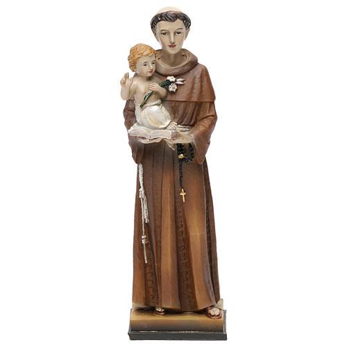 San Antonio de Padua 20 cm estatua resina 1