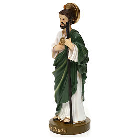 St. Jude statue in resin 18 cm s2