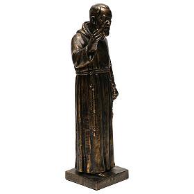 STOCK Estatua de San Pío de Pietralcina 50 cm resina Fontanini s4