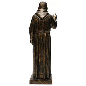STOCK Estatua de San Pío de Pietralcina 50 cm resina Fontanini s5