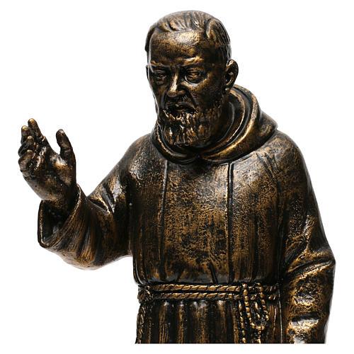 STOCK Statua di San Pio di Pietrelcina 50 cm resina Fontanini 2