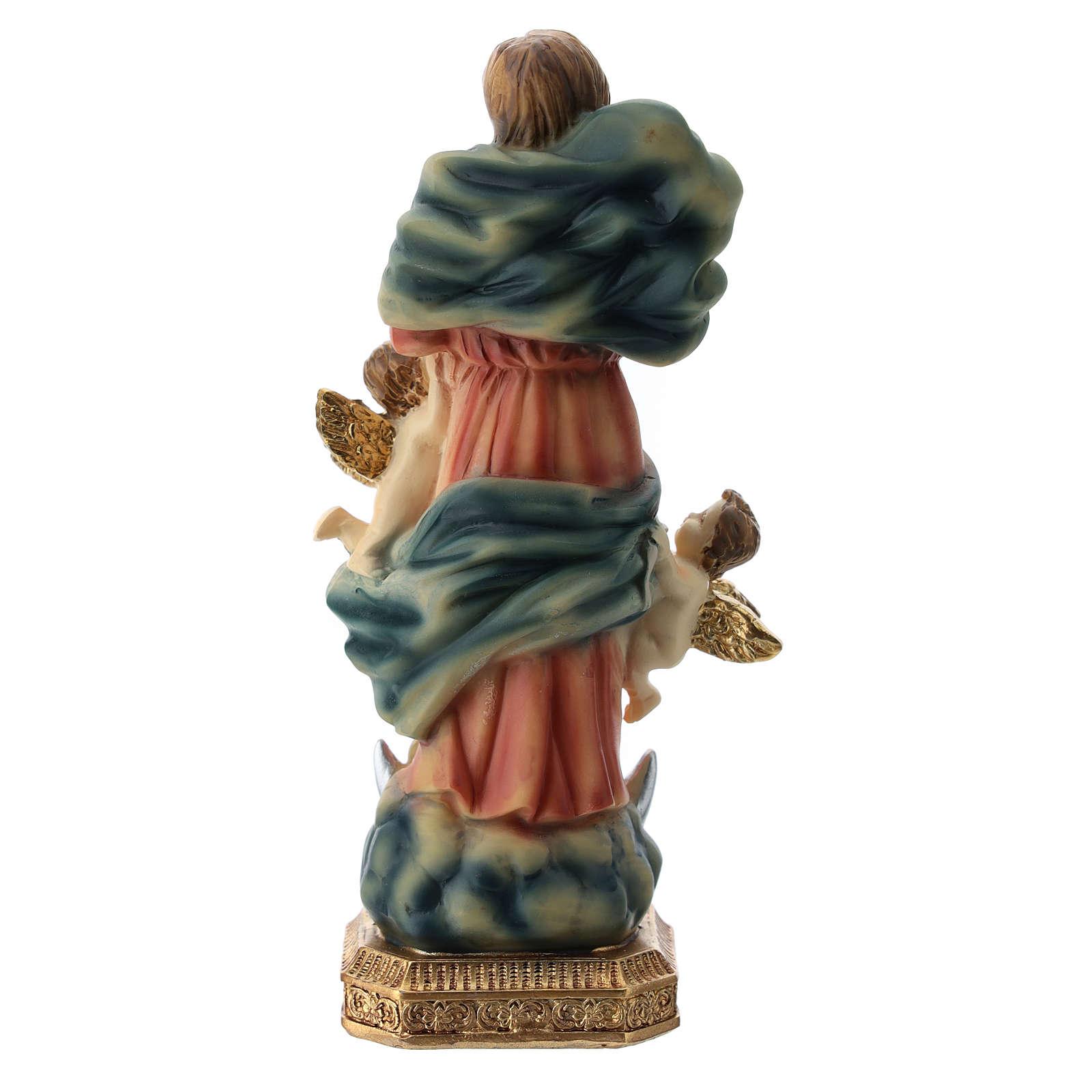 Virgen que desata los nudos 15 cm 4