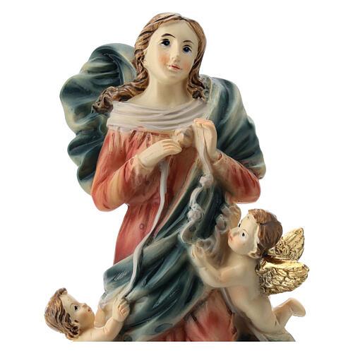 Matka Boża rozwiązująca węzły 15 cm 2