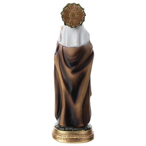 Figura Święta Katarzyna ze Sieny żywica 20 cm 5