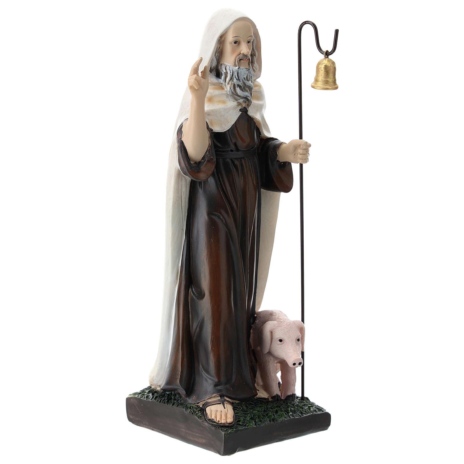 Saint Antoine le Grand résine 20 cm 4