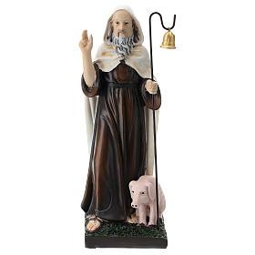 Saint Antoine le Grand résine 20 cm s1