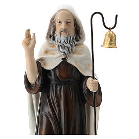 Sant'Antonio Abate resina 20 cm  s2