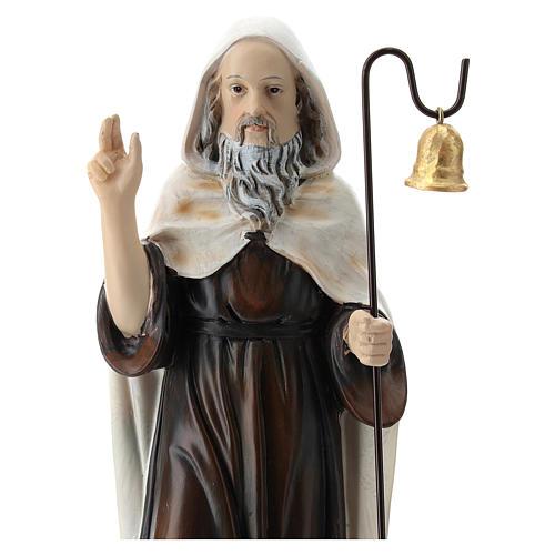 Sant'Antonio Abate resina 20 cm  2