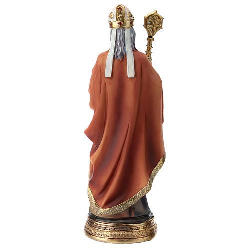 Estatua resina San Nicolás 20 cm 5