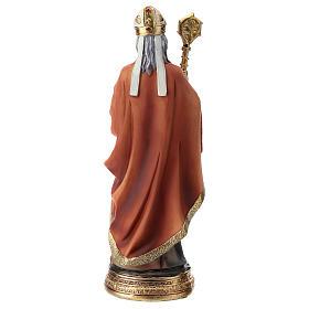 Statue résine Saint Nicolas 20 cm s5