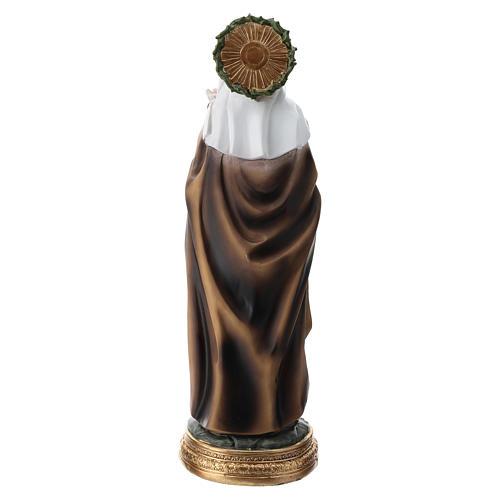 Santa Caterina da Siena statua resina 30 cm  5
