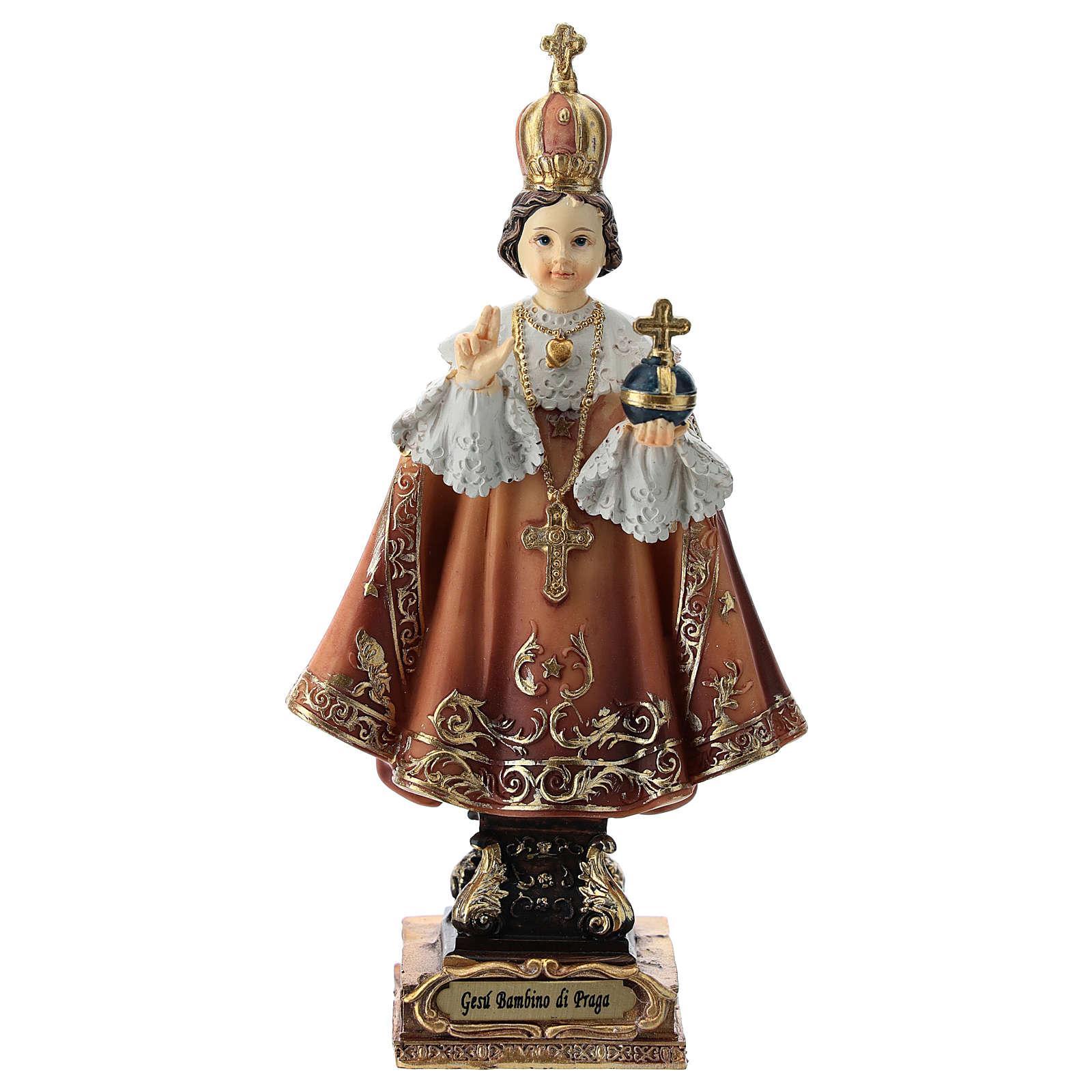 Enfant Jésus de Prague statue 15 cm 4