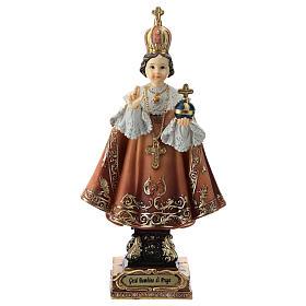Enfant Jésus de Prague statue 15 cm s1
