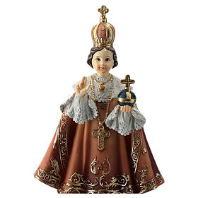 Enfant Jésus de Prague statue 15 cm s2