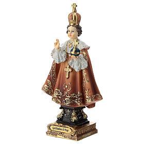 Enfant Jésus de Prague statue 15 cm s3