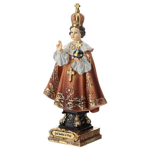 Enfant Jésus de Prague statue 15 cm 3