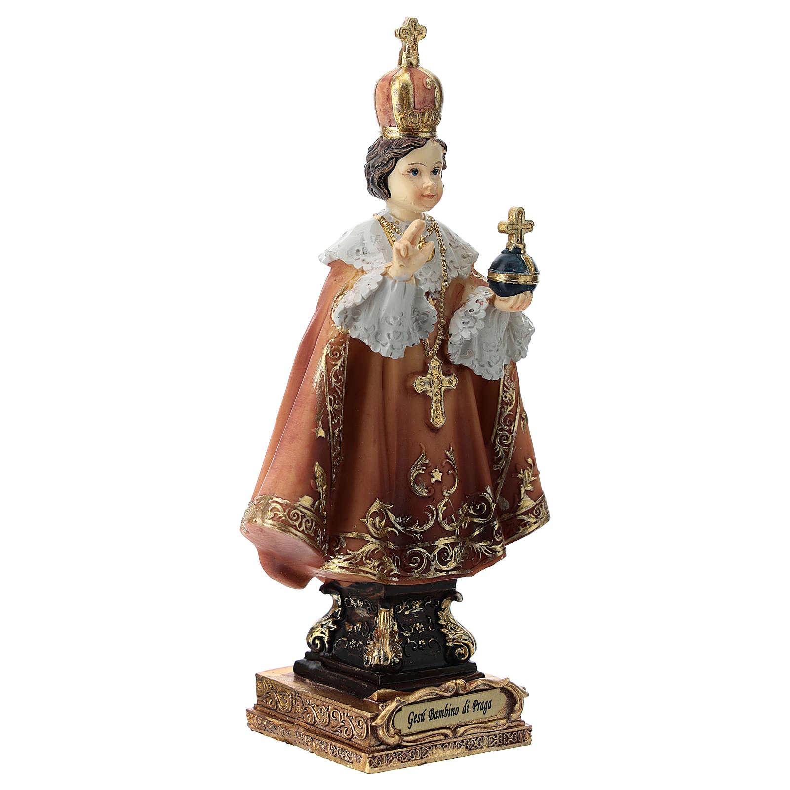 Infant of Prague statue 15 cm 4