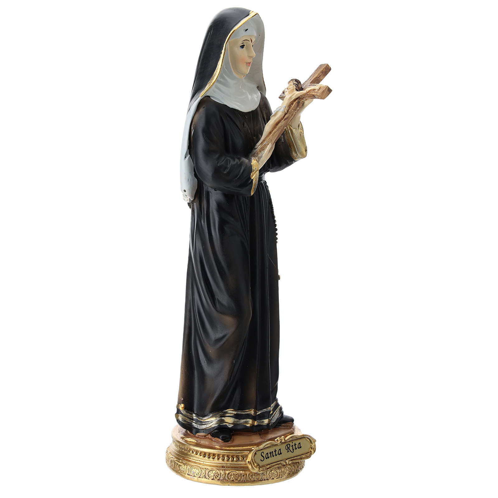 Statue of St. Rita 22.5 cm resin 4