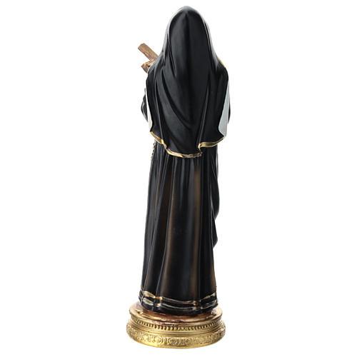 Estatua de resina de Santa Rita 20 cm resina 5
