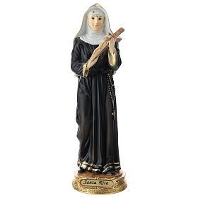 St Rita statue in resin 20 cm s1