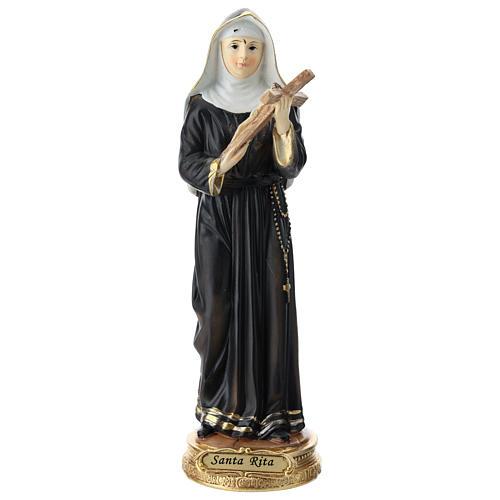 St Rita statue in resin 20 cm 1