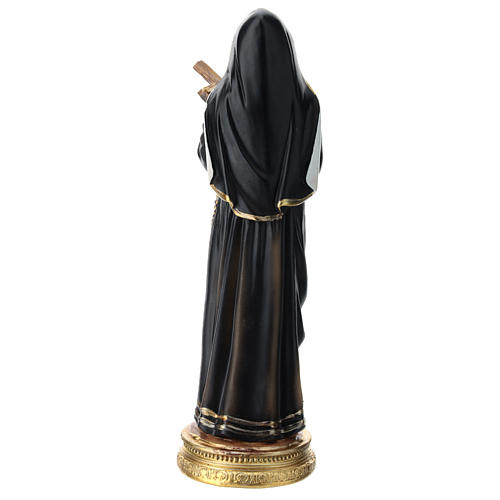 St Rita statue in resin 20 cm 5