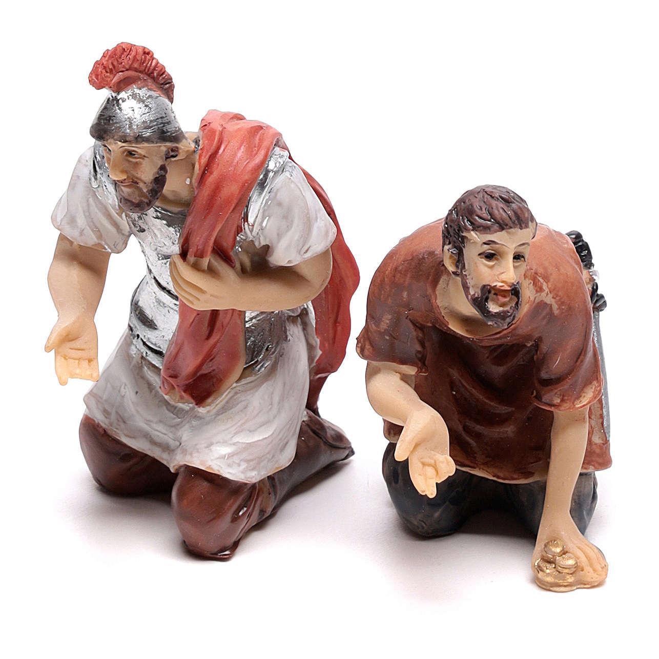 Escena vida de Cristo jugadores 9 cm 4