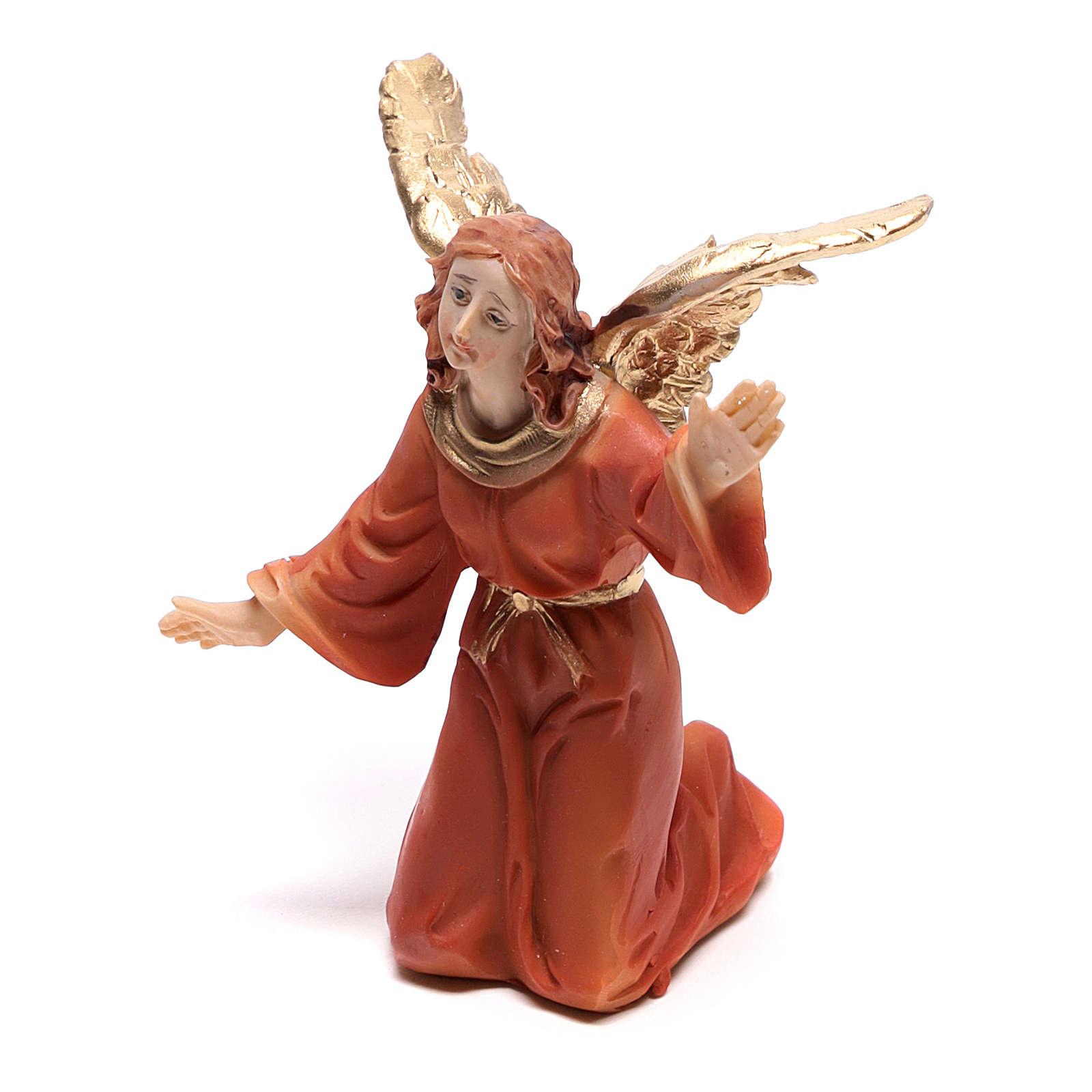 Scena della vita di Gesù: deposizione con angelo 9 cm 4