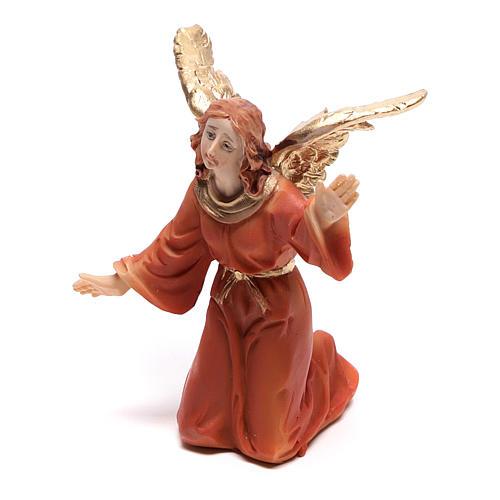 Scena della vita di Gesù: deposizione con angelo 9 cm 3
