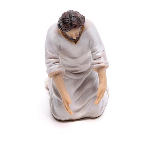 Scène vie de Christ lavement des pieds 9 cm 2