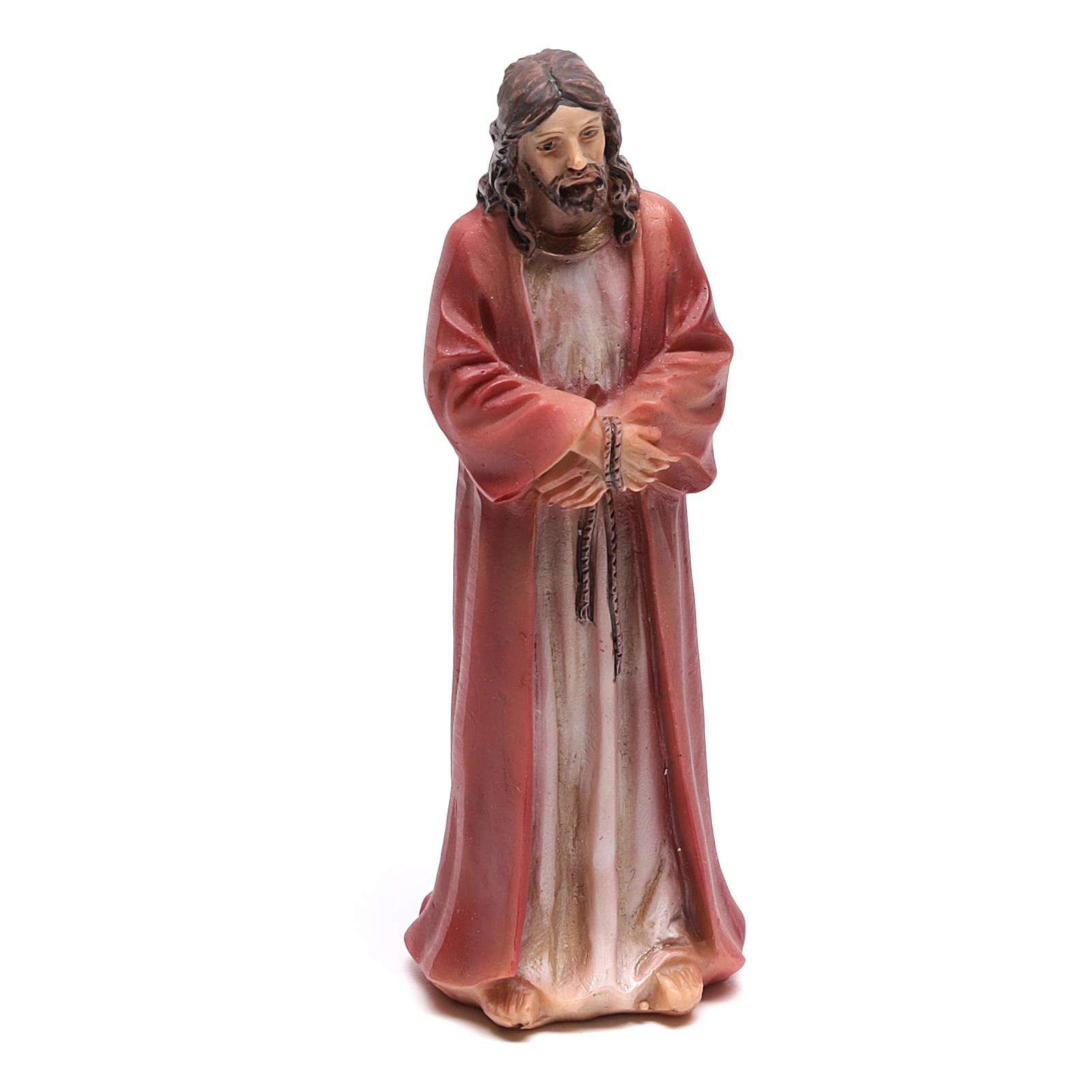 Scène vie de Christ condamnation de Jésus 9 cm 4