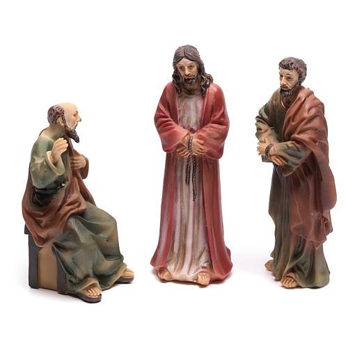 Scène vie de Christ condamnation de Jésus 9 cm 1