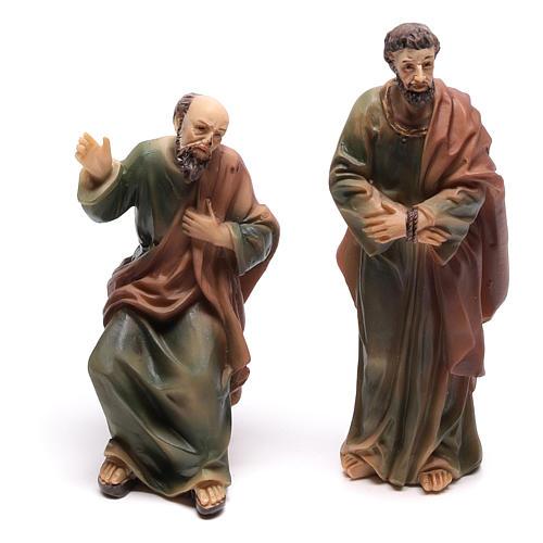 Scène vie de Christ condamnation de Jésus 9 cm 3