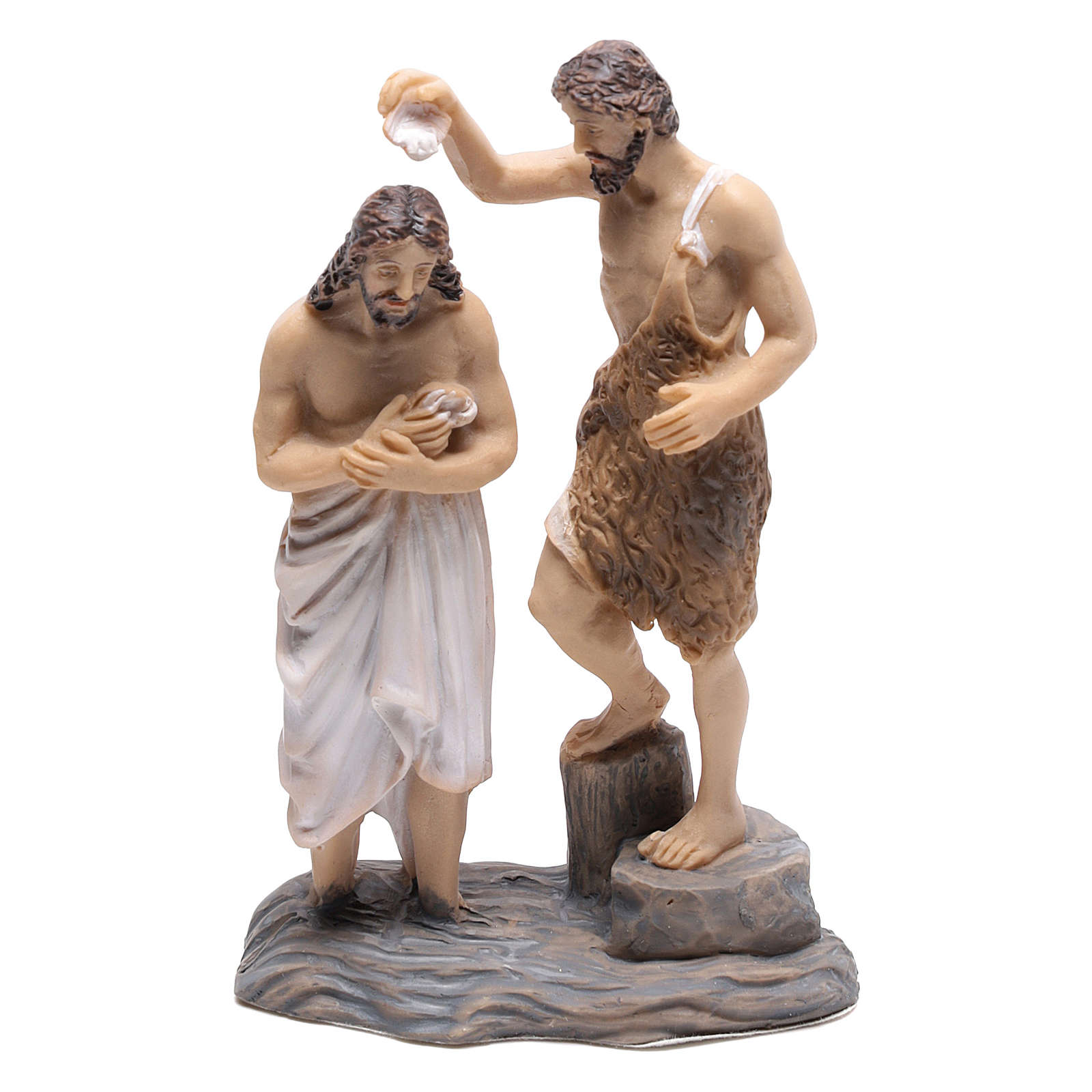 Baptism of Jesus with John the Baptist 9 cm 4