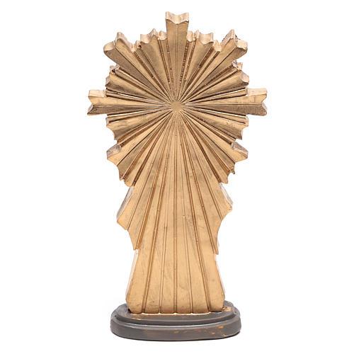Statuina di Gesù nel momento della Risurrezione 9 cm 3