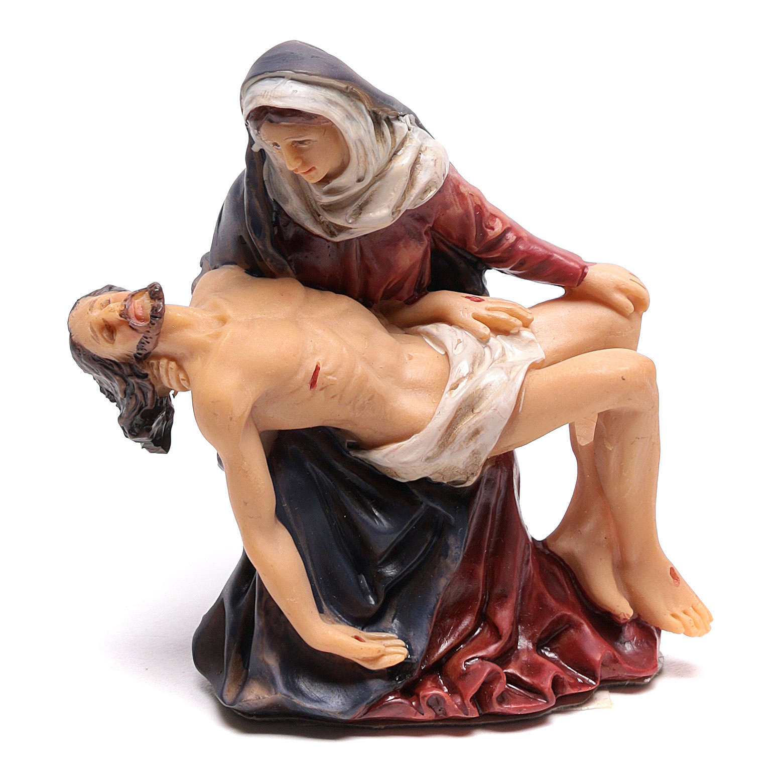 Statuette of Jesus removed from the cross in the arms of Mary 9 cm 4